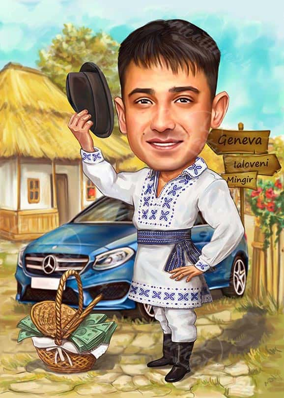 Customized Caricature from Photo