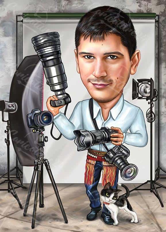 Hobby Photography Caricature