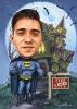Batman Caricature from Photo