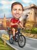 Biker Caricature Personalized Gift