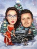 Christmas Caricatures from Photos