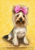 Cute Dog Caricature from Photo