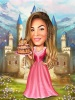 Disney Princess Caricature from Your Photo