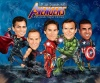 Movie Caricature - The Avengers