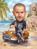 Party Caricature Drawing