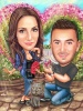Personalized Gift Caricature for Engagement