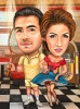 Tenis Player and Singer Caricature